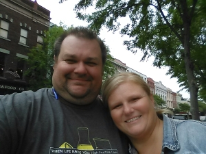 4/19/15 Michelle & I toured downtown Charleston, South Carolina